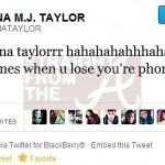 Teyana Taylor Hacked Tweet 021512