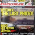 Whitney Houston Death Photo Casket