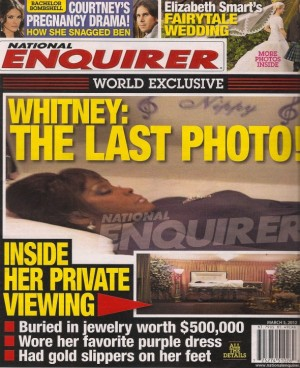 Whitney Houston Death Photo Casket