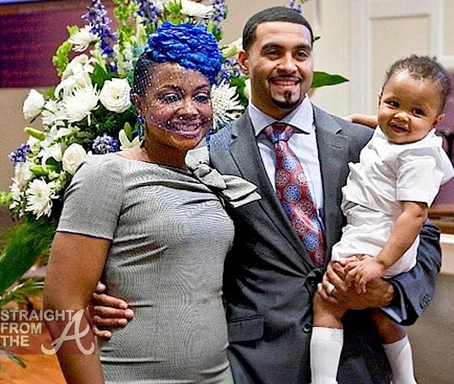 Apollo Nida White Mother Husband apollo nida held aPhaedra Parks New Baby Dylan