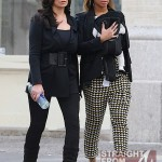 Beyonce Mama Tina and Blue Ivy Stroll in NYC - 031212-10