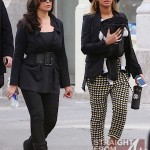 Beyonce Mama Tina and Blue Ivy Stroll in NYC - 031212-16