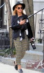Beyonce Mama Tina and Blue Ivy Stroll in NYC - 031212-18
