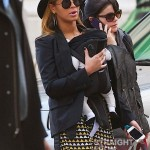 Beyonce Mama Tina and Blue Ivy Stroll in NYC - 031212-3