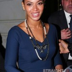 Beyonce and Jay-Z Leave NOBU 031912-28
