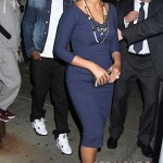 Beyonce and Jay-Z Leave NOBU 031912-31