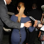 Beyonce and Jay-Z Leave NOBU 031912-38