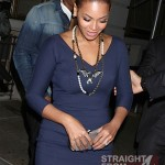 Beyonce and Jay-Z Leave NOBU 031912-43