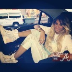 Hot or Not? Ciara's Whimsical Courtside Attire… [PHOTOS]