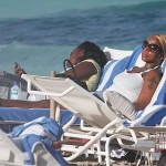 Mary j Blige Beach 031712-3