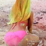 Nicki Minaj Filming Starship In Hawaii 031412-4