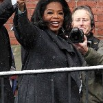 Oprah & Lady GaGa at Harvard 030112-1