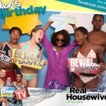 Cynthia Bailey's Daughter Noelle (center) with Whitfield Kids & Guests - OMGBooth.com-7