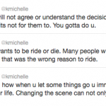 K. Michelle Tweets