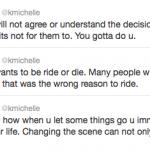 K. Michelle Tweets