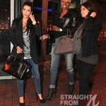 NeNe Leakes 'Breaks Bread' With Kim Kardashian in Atlanta… [PHOTOS!]