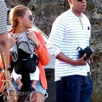 Family Vacation: Beyonce, Jay-Z and Blue Ivy Makes Three… [PHOTOS]