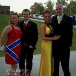 Confederate Prom Dress 2012 - 2