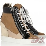 Hot or Not? Keri Hilson's Wedge Sneakers… [PHOTOS]