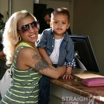 Keyshia Cole Gibson Family Outing 041812-3