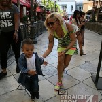 Keyshia Cole Gibson Family Outing 041812-8