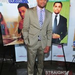 Michael Ealy Rolling Out Cover Party 040312-7