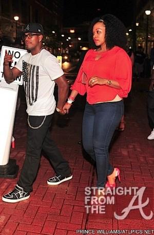 Neyo and Monyetta Shaw Think Like A Man Premiere 040212
