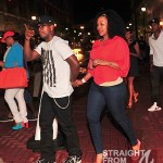 Neyo and Monyetta Shaw Think Like A Man Premiere 040212