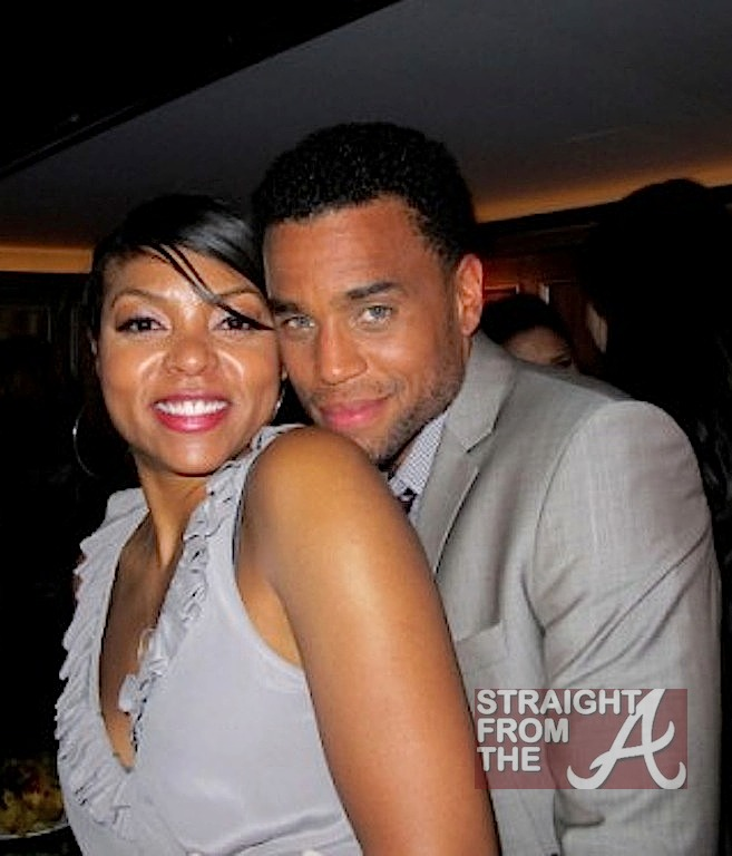 Michael Ealy Family There is a such thing as Laz Alonso Wife 2014