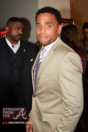 Michael Ealy - Think Like A Man Atlanta Premiere 040312-17