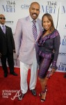 Steve &amp; Majorie Harvey - Think Like A Man Atlanta Premiere 040312-24