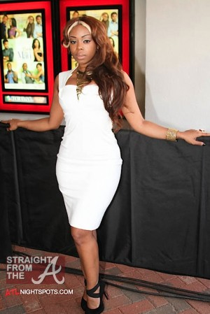 Shay Buckeey Johnson - Think Like A Man Atlanta Premiere 040312-41