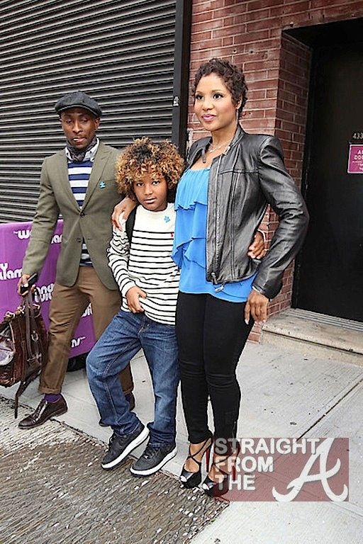 Celebrity Kids Halle Berry with Maceo and Nahla