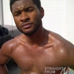 Usher Raymond Work Out 041012-2