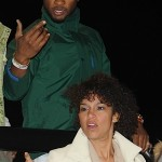 Usher and Girlfriend Grace at Coachella Music Festival