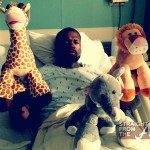 "Curtis ""50 Cent"" Jackson Hospitalized… [PHOTOS]"