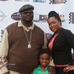 Johnnie Cabbell &amp; Family - ATL Celebrity Kids Fashion Show 051212-1