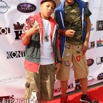 Domani &amp; Messiah (T.I.&#039;s sons) ATL Celebrity Kids Fashion Show 051212-16