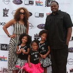 George &amp; Chanita Foster &amp; Kids - ATL Celebrity Kids Fashion Show 051212-4