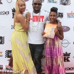 Shawty Lo Lucretia & Daughter - ATL Celebrity Kids Fashion Show 051212-8