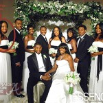 Maya Fox Davis (far left) Usher Tameka Wedding Party StraightFromTheA
