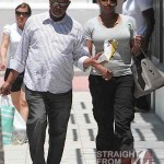 Nene and Gregg Leakes Shopping Miami 050612-1