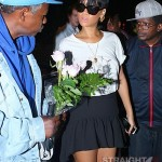 Quick Flix: Rihanna Stops to Smell The Flowers… [PHOTOS]