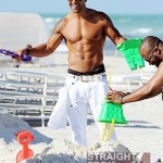 Shemar Moore Beach Body 050212-10
