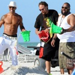 Shemar Moore Beach Body 050212-14