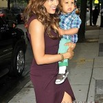 Tia Mowry and Son Cree 051512-11