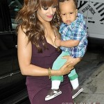 Tia Mowry and Son Cree 051512-5