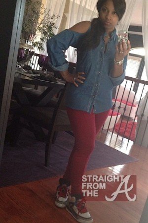 Toya Wright Pregnant NOT-5