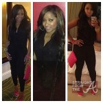 Toya Wright Pregnant NOT-8