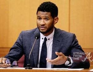 Usher Tameka Court StraightFromTheA 052212 - 4